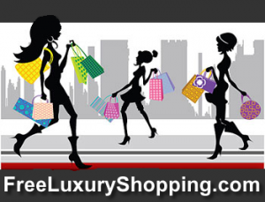 free luxury shopping