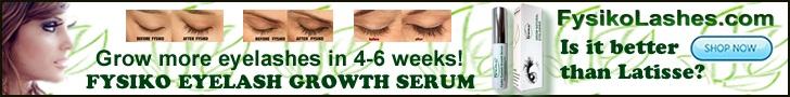 atricles fysiko eyelash growth serum