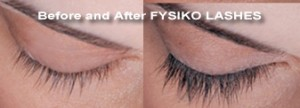 Fysiko eyelash growth enhancer before and after