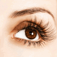How to make eyelashes look longer.