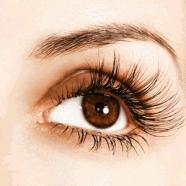How to make eyelashes look longer.