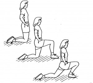 Lower back exercise