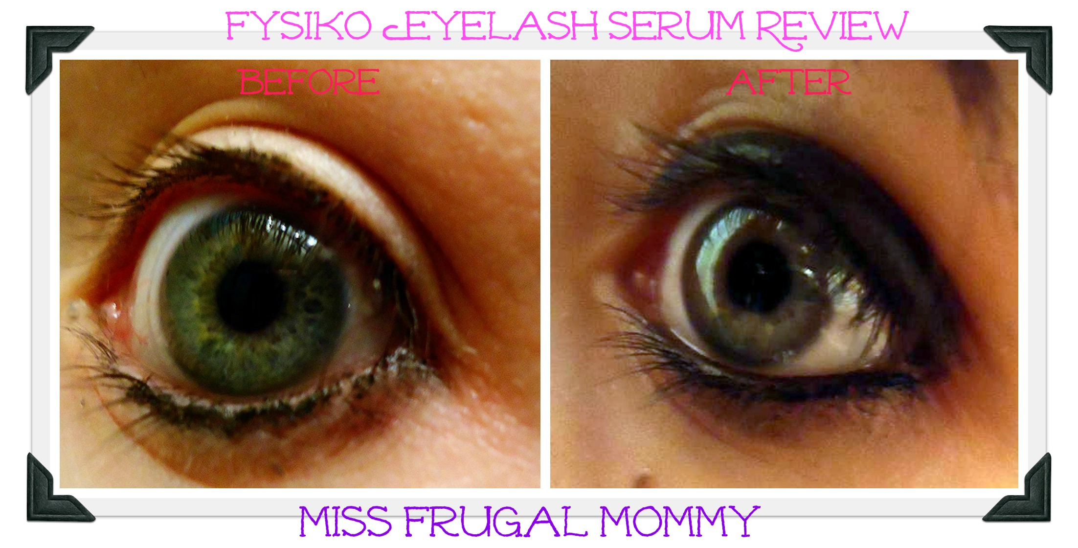 fysiko eyelash serum review